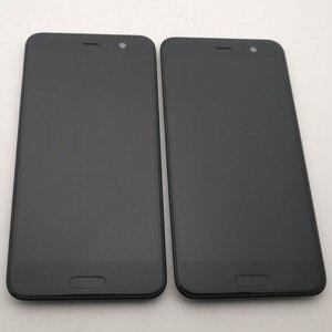 """Image 2 - מקורי עבור 5.2 """"HTC U לשחק LCD תצוגה + מסך מגע Digitizer עצרת עבור HTC U לשחק תצוגה עם מסגרת + לחצן בית + כלים"""