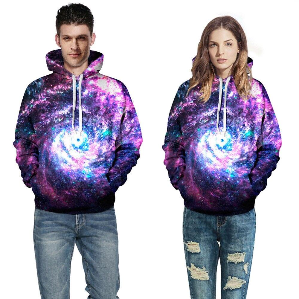 Splee Space Galaxy Hoodies Men/Women Sweatshirt Streetwear Hooded 3d Clothing Cap Hoody Print Paisley Nebula Jacket Hoodie