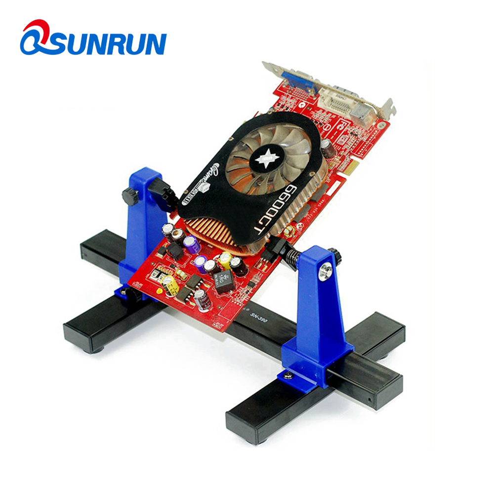 Detail Feedback Questions About Qsunrun Sn 390 Adjustable Pcb Holder Circuit Board Repair Printed Jig Fixture Soldering Stand Clamp Tool For