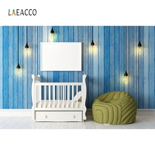Laeacco Newborn Bed Baby Room Sofa Backdrop Photography Backgrounds Customized Photographic Backdrop For Photo Studio