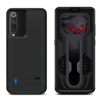 5000mAh Battery Charger Case for Xiaomi Mi 9 Mi9 Case External Backup Charging PowerBank Case For Xiaomi Mi 9 Battery Case Stand