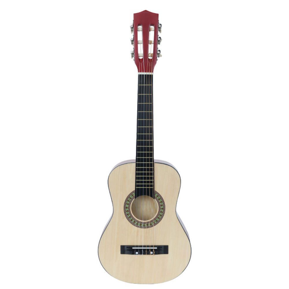 NEW Classical Wood 30 Inch Guitar Beginner Introduction Musical Instrument Bts School Educational Supplies WJ-JX3 Affordable