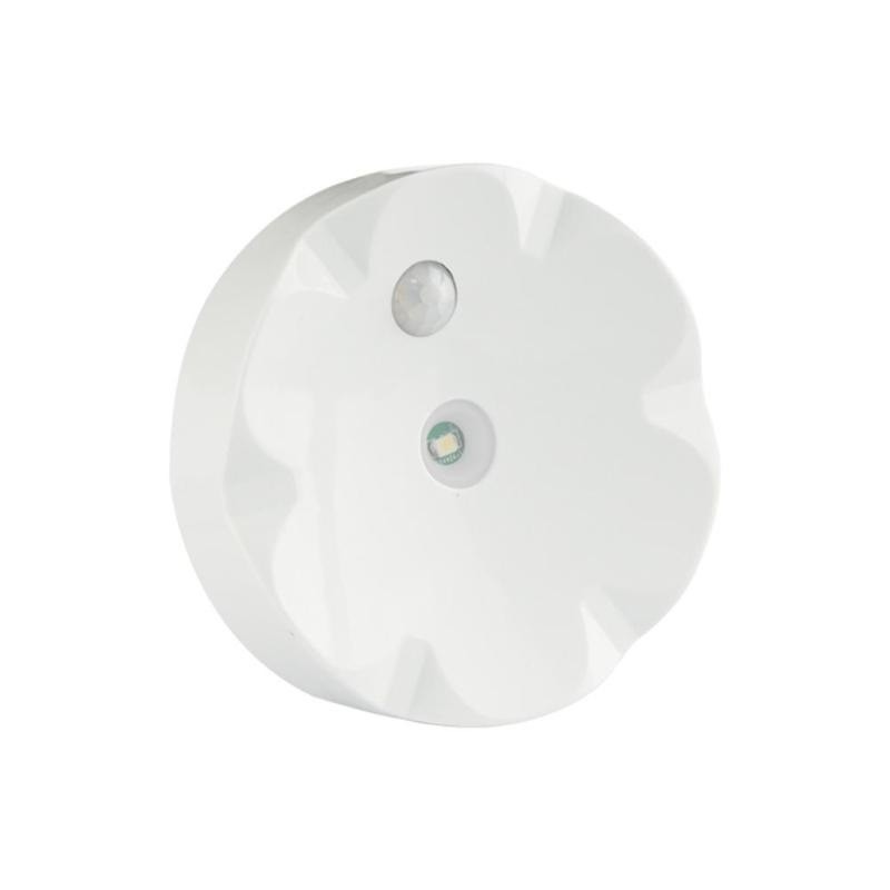 Aaa Batterij Operated Led Nachtlampje Ir Motion Sensor Licht Ronde Nachtkastje Gang Kast Wandlamp Goed Voor Energie En De Milt