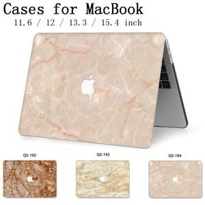 Image 1 - Pour ordinateur portable étui pour ordinateur portable pour MacBook 13.3 15.4 pouces pour MacBook Air Pro Retina 11 12 avec écran protecteur clavier Cove