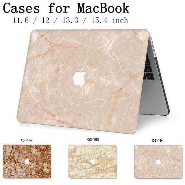 Pour ordinateur portable étui pour ordinateur portable pour MacBook 13.3 15.4 pouces pour MacBook Air Pro Retina 11 12 avec écran protecteur clavier Cove