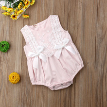 Baby Girls Clothing Ruffles Rompers Jumpsuit