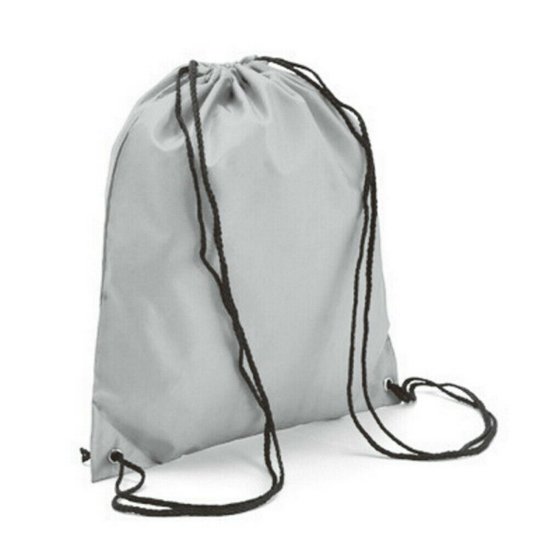 Ring Green Drawstring Backpack Sports Athletic Gym Cinch Sack String Storage Bags for Hiking Travel Beach