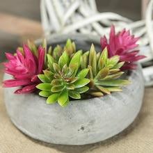 10PCS Artificial Lifelike Mini Snowdrop Three-Color Flesh Simulation Plant Flower Micro-Landscape Home Furnishings