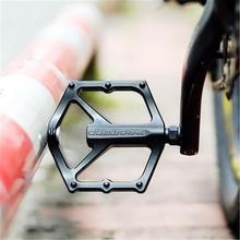 MTB педаль из алюминиевого сплава велосипед опорная педаль велосипеда анти-скольжения Сверхлегкий подшипник Педали велосипед наружные аксессуары
