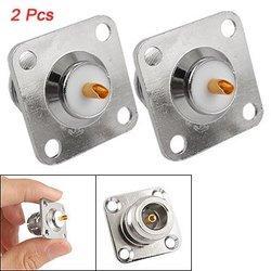 2 sztuk N żeńskie gniazdo mocowanie panelu podwozie złącze PCB Adapter