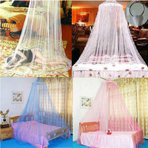 Baby Infant Nursery Mosquito Bedding Crib Canopy Net Crib Netting Hanging Babe Dome Summer