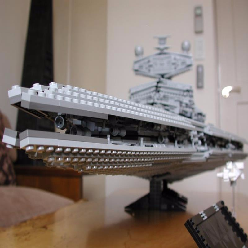 Nouveau Lepin Bloc 3250 pièces 05027 Qualité Empire Interstellaire Destroyer Star War Assemblage Orthographe Insérer Alpinia En Plastique Blocs