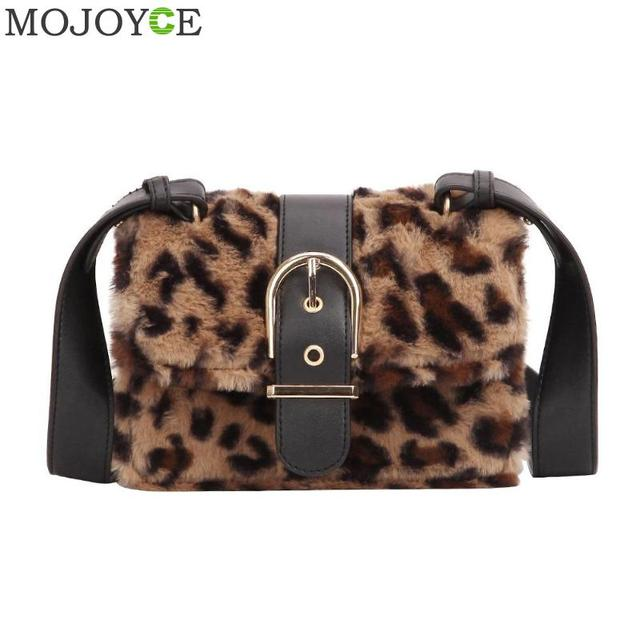 835d1bea4b8 US $11.48 45% OFF|Fashion Leopard Print Women Messenger Bags Luxury  Shoulder Small Phone Crossbody Bags for Ladies Winter Casual Shopping  Handbag-in ...