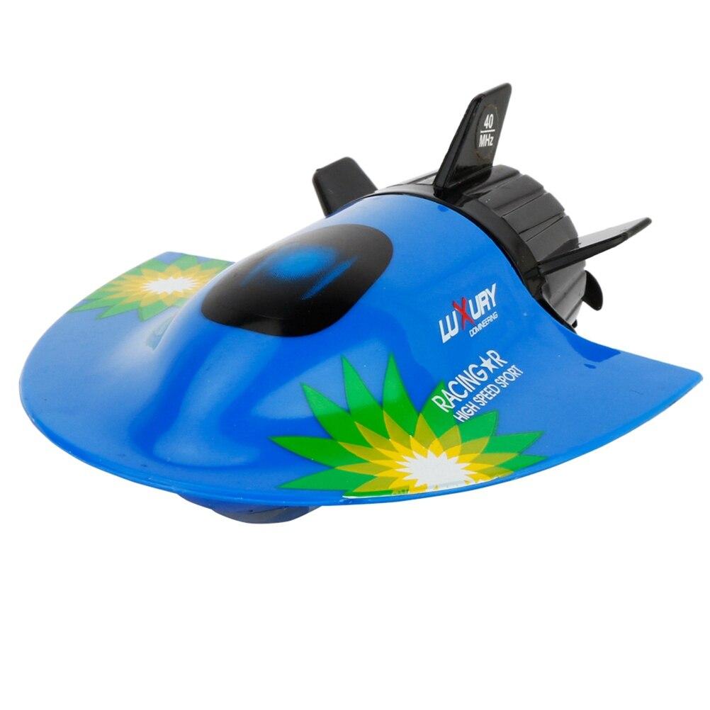 Suche Nach FlüGen Mini Radio Fernbedienung Rc Submarine Schiff Spielzeug Kühlen Aquatische Spielzeug 27 Mhz 2,4 V Rc Submarine Sammeln & Seltenes weiß & Blau Fernbedienung Spielzeug