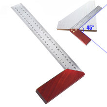 300mm Carpenter Multi-functional Stainless Steel Woodworking Protractor Accurately Square Ruler Framing Measuring Tool Gauge
