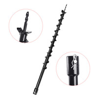 40mm Strongest power Ground Gasoline Engine Drill Bit Earth Auger Hole Digger Tools Planting Machine Auger Agricultural Drill