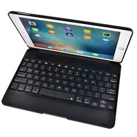 Fashional Clamshell ABS Wireless Bluetooth Keyboard For New ipad 9.7 2017 /ipad Air Folio Style Stand Protective+Film