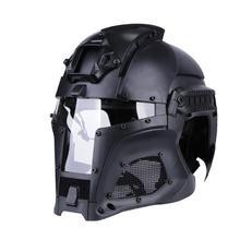 Casco Medieval guerrero de hierro táctico al aire libre Retro casco Color sólido edición