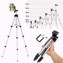 Выдвижной мобильный смартфон цифровая камера штатив Стенд крепление держатель Клип Набор для Nikon для Canon для iPhone 6 6s 7