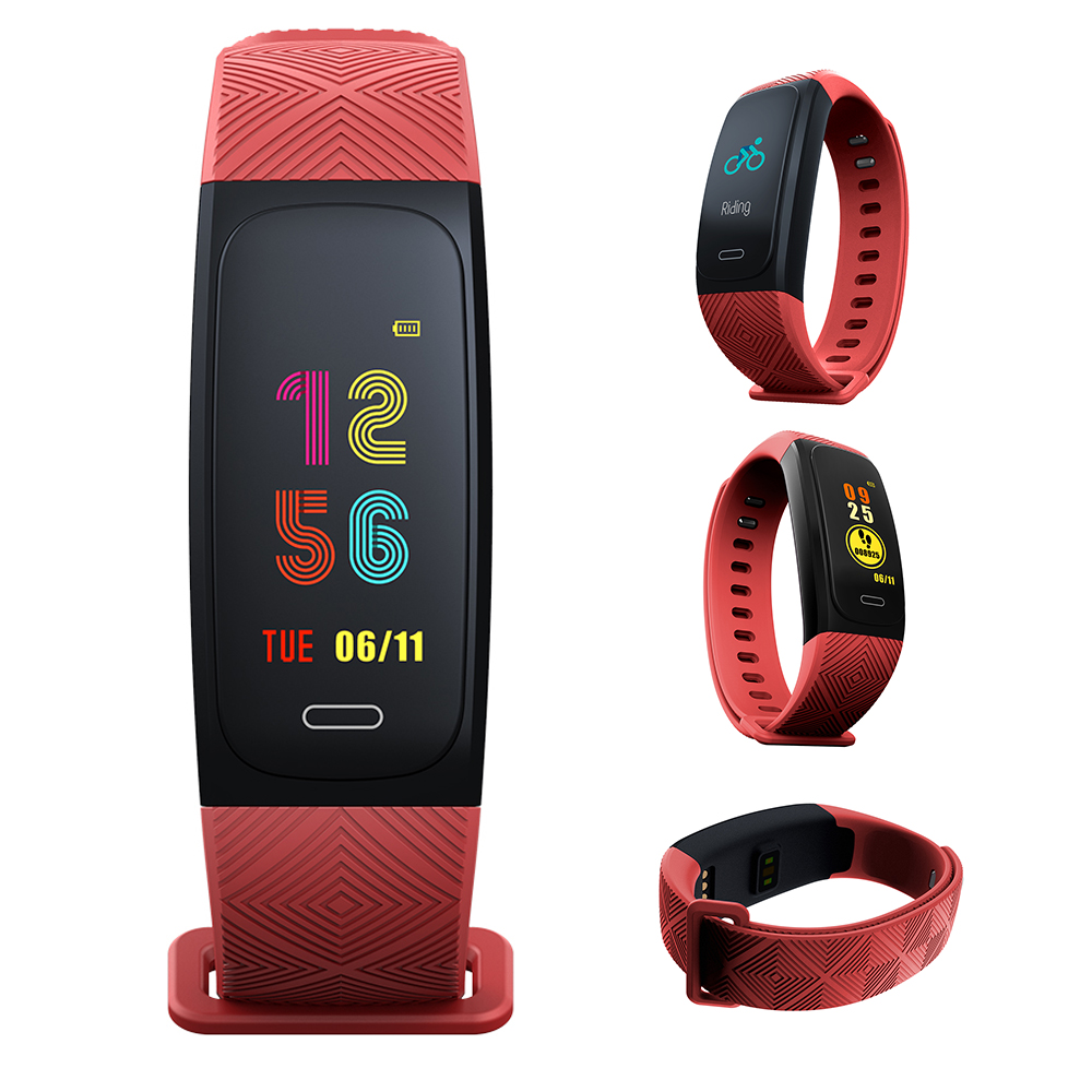 IP68 Waterproof Heart Rate Monitor Smart Watch Sports Fitness Activity Heart Rate Tracker Weather Forecast Smart