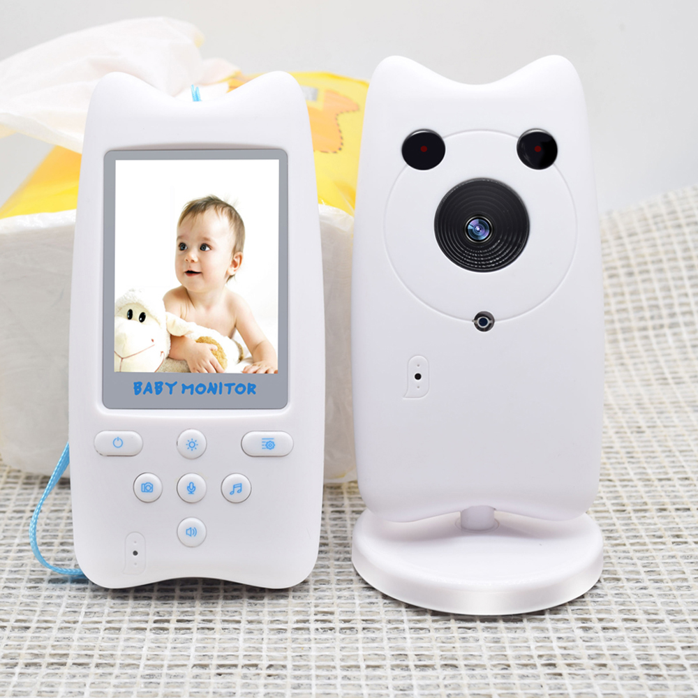 2 4GHZ Digital Wireless Baby Monitor Two way Talkback System Voice Clear Baby s Supervision Product