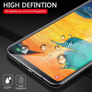 Image 4 - 9D Curved Tempered Glass For Samsung Galaxy A10 A20 A30 A40 A50 A60 Protective Film on A 10 20 30 40 50 60 Screen Protector glas