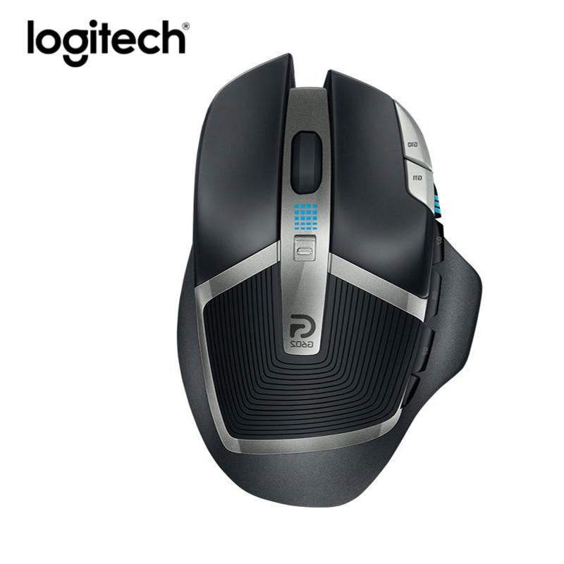 Logitech Gaming Mouse Gamer Mice Ergonomic Laptop Wireless Original Laser 2500dpi Raton