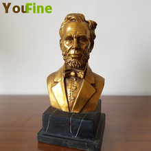 YOUFINE Bronze figure sculpture copper real person  bust manufacturers selling support custom
