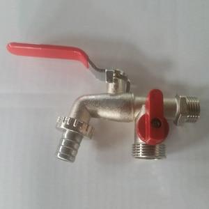 Image 5 - Водопроводный кран из нержавеющей стали, 1 шт., легко устанавливается, водопроводный кран двойного назначения, садовый кран для домашнего использования, садовый кран