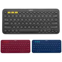Logitech K380 Multi Device Bluetooth Wireless Keyboard for Mac Chrome Windows Ultra thin Tablet Keypad for iPhone iPad Android