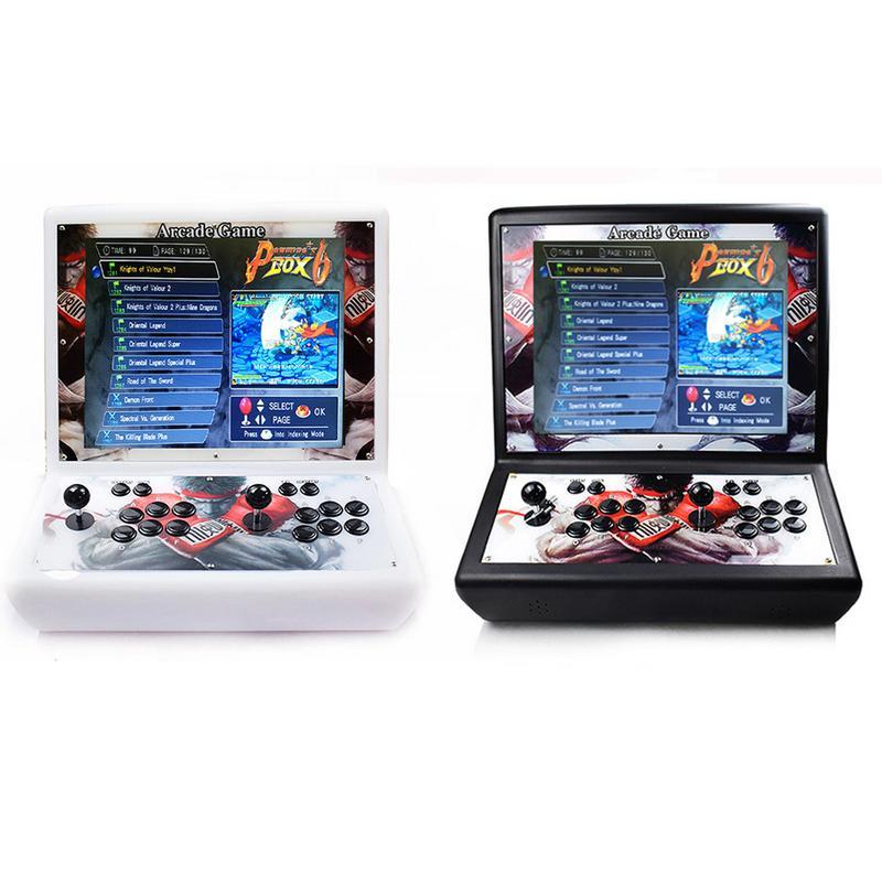 Pandora Box 6 дома Аркада консоли файтинг машина 1300 один Ностальгический Street Fighter