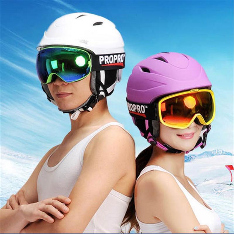Casque de Ski intégré planche simple Double planche casque de sport de plein air casque de neige casquette de neige pour hommes et femmes