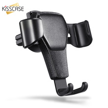 KISSCASE Universal Car Phone Holder Stand For iPhone Samsung Huawei Widely Air Vent Mount Mobile