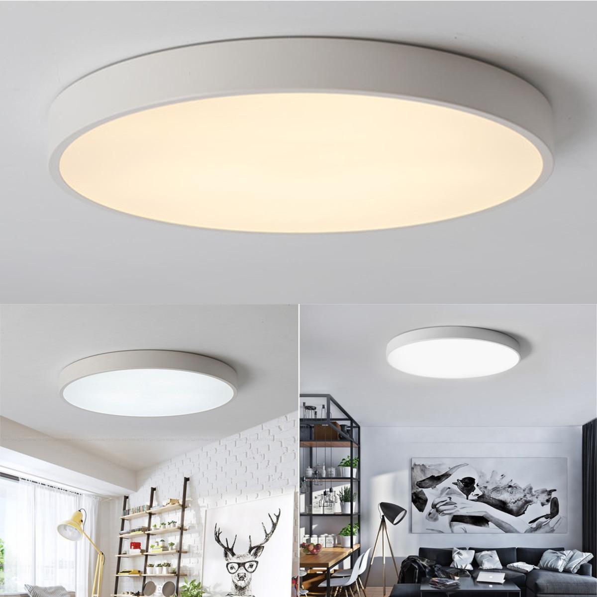 Buy retro led ceiling light acrylic led - Living room ceiling light fixture ...