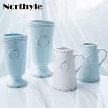 ciel Vase de porcelaine