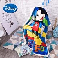 Disney New Winter Baby Blanket Articles Baby Flannel Cover Blanket Cartoon Children Lamb Villus Carpet Customize