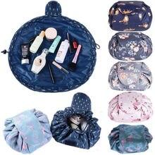 2019 Portable Toiletry Bag Lazy Drawstring Makeup Bag Quick Pack Travel Bag  Drawstring Storage HOT Cosmetic ab99145f441a5
