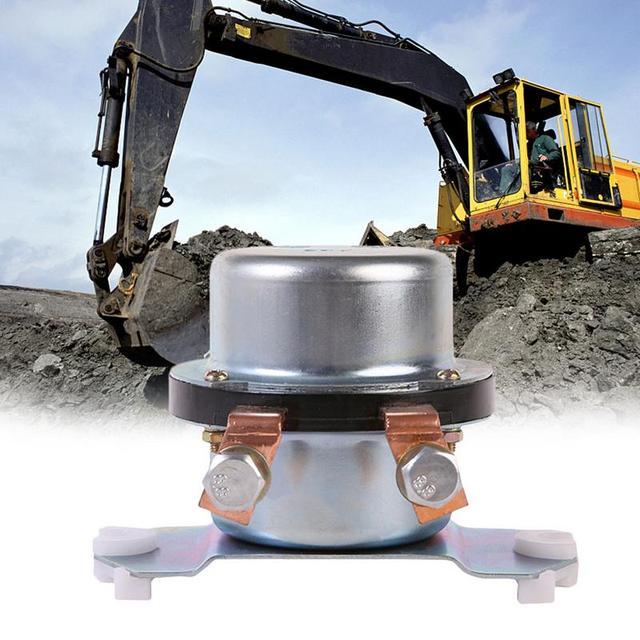 Acessórios universais profissionais do interruptor principal da bateria do relé 080008 30000 da bateria do relé da máquina escavadora 24 v