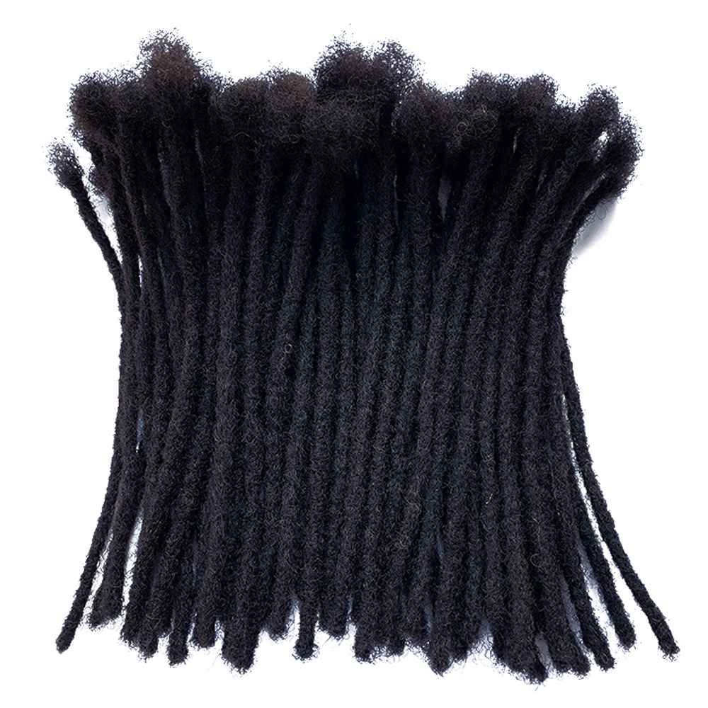YONNA Hair-Extensions Dreadlocks Human-Hair Full 60locs Handmade
