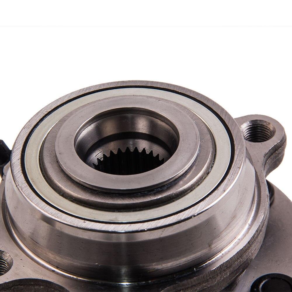1 moyeu de roulement de roue avant pour NISSAN NAVARA 4WD D22 D40 YD25 VQ40 espagnol MAX pour NISSAN NAVARA/PATHFINDER 2.5, 3.0, 4.0 dCi SPT - 4
