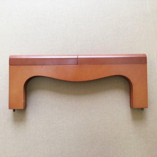 Us 161 Wood Purse Frame Vintage Bag Handle Wholesale Wooden Clutch Frame Factory Supply Obag Handle Arc Bag Frame Black Brown Color In Bag Parts