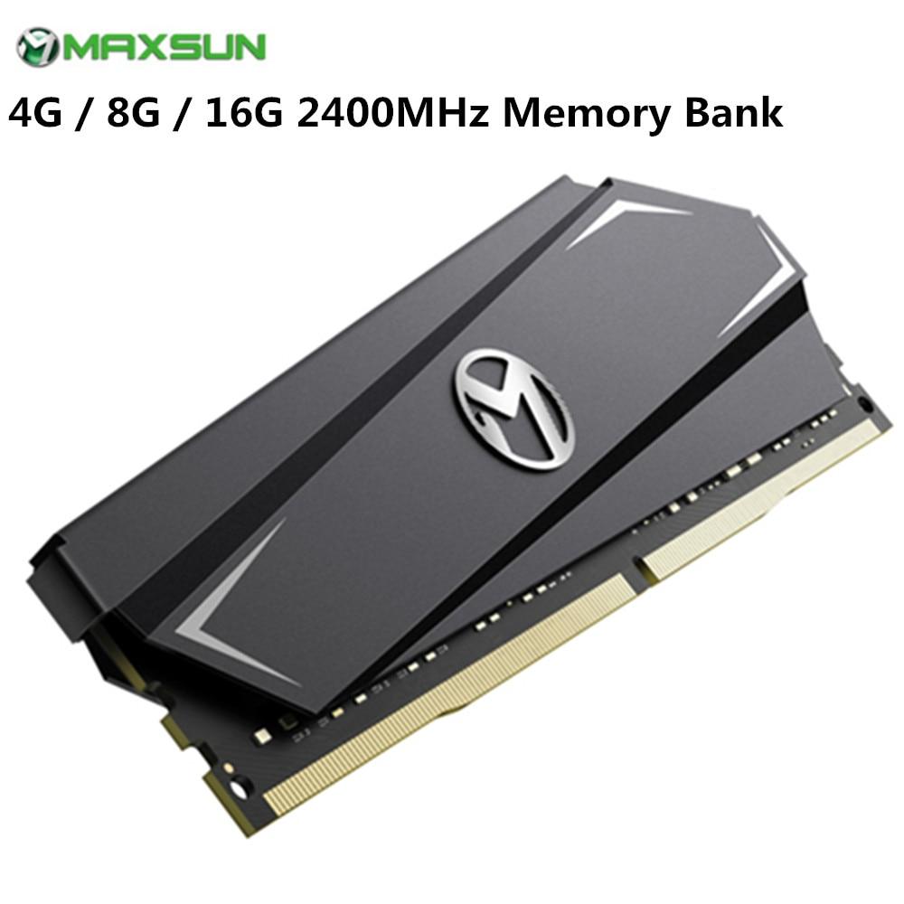D'origine MAXSUN RAM DDR4 4 GB/8 GB/16 GB 2400 MHz type d'interface 288pin Mémoire Tension 1.2 V garantie à vie unique Mémoire Module