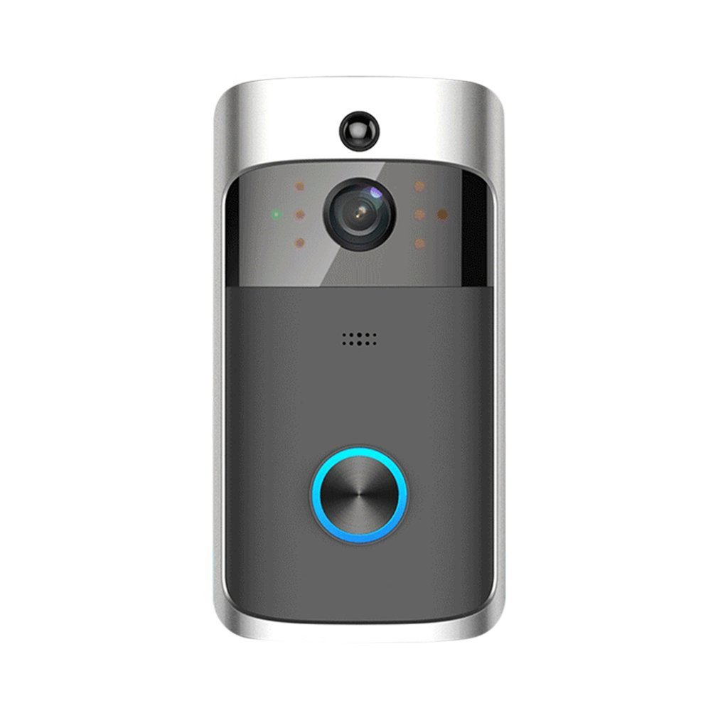 M3 Wireless Video Doorbell WIFI Remote Intercom Detection Electronic Home Security HD Visible Monitor Night Vision DoorphoneM3 Wireless Video Doorbell WIFI Remote Intercom Detection Electronic Home Security HD Visible Monitor Night Vision Doorphone