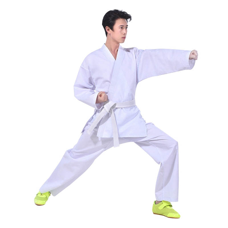Tae Kwon Do Uniform White Belt Lightweight Karate Taekwondo Gi Professional Suit