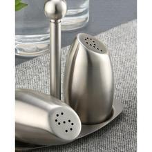 Нержавеющая сталь бак для приправ солонка перечница набор для приправ Бутылка Приправа кухонная банка