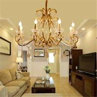 Современный потолочный светильник Хрустальная люстра подвесной светильник E14 промышленные люстры подвесной светильник декора светильник