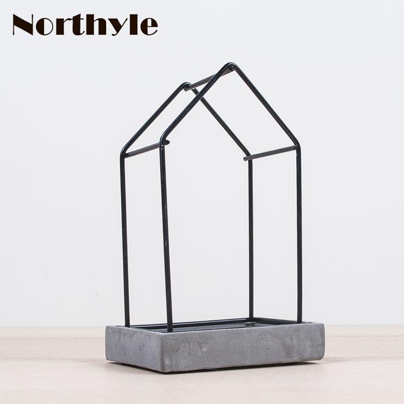 Průmyslový styl svícen betonový suterén tealight držák domácí svíčka stojan dekorace svíčka hůl svatební výzdoba