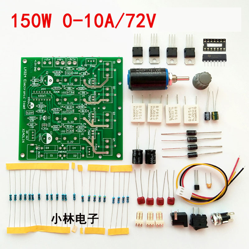 Breadboard Nodemcu Power 150w Electronic Load Tester 15v 0-10a /60v 2.5a Constant Current Battery Discharge Capacity Diy Kits