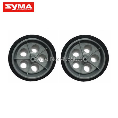 2PCS/Set SYMA X9-08 Rear Wheels Syma X9 RC Flying Car Quadcopter Toys Spare Part image