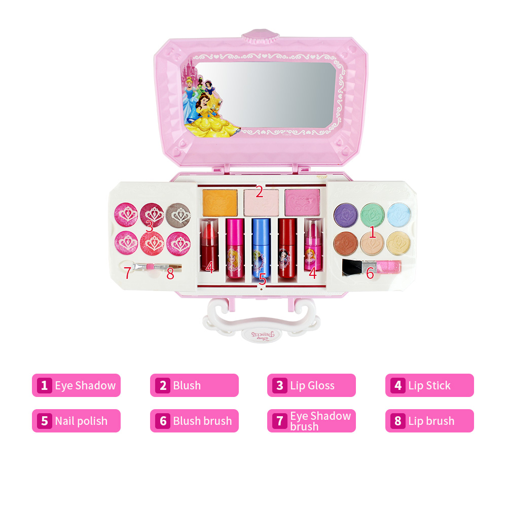 Beauty & Health Eye Shadow Diy Makeup Tools Children Lovely Plastic Makeup Comestics Kit